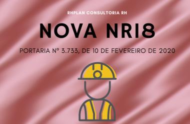 NOVA NR18 | Condições de Segurança e Saúde no Trabalho na Indústria da Construção