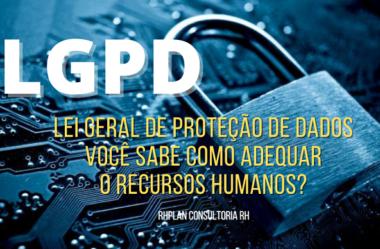 Lei Geral de Proteção de Dados – Você sabe como adequar?